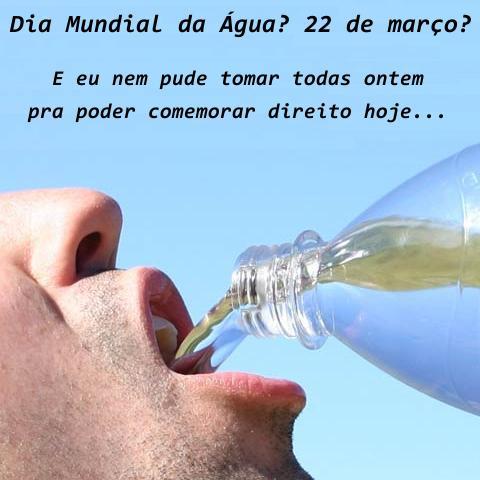 Dia Mundial Da água Legal